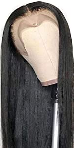 straight lace front wigs