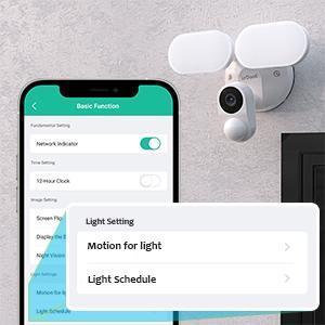 ieGeek Smart lighting security camera