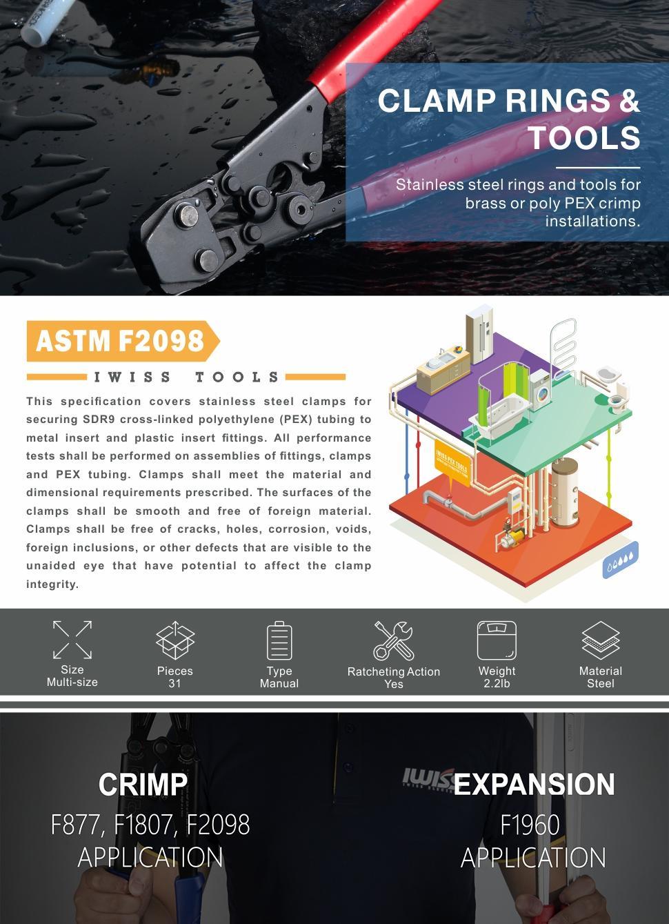 pex clamp tool