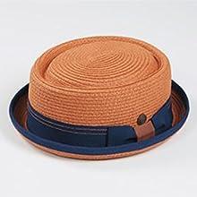 Rico Orange  Blue Porkpie Hat