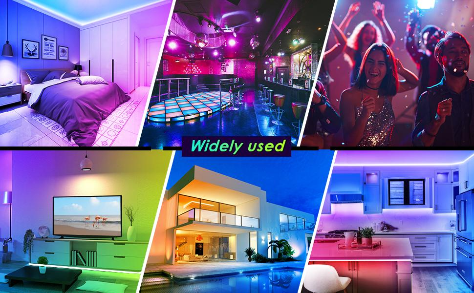 Widely Used of Led light strips