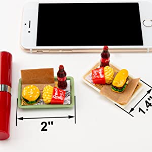 """The Trays Size: 2"""" by 1.4"""" (5.2cm*3.5cm)"""