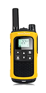 socotran walkie talkies rechargeable two way radio for adults kids