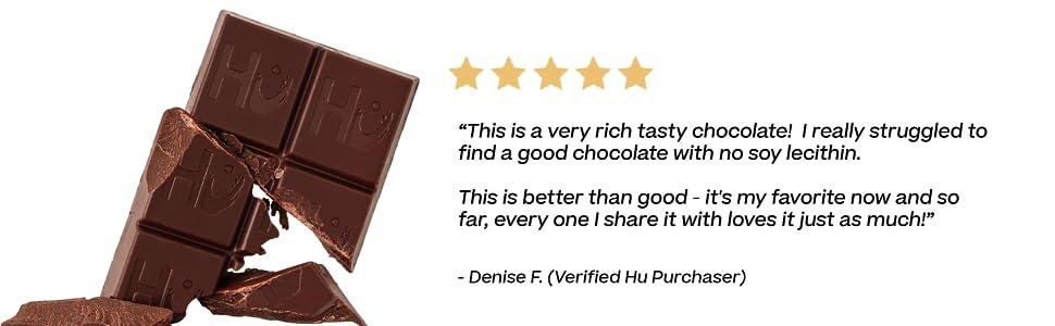 Rich tasty chocolate