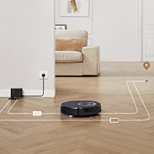 robot vacuum mapping