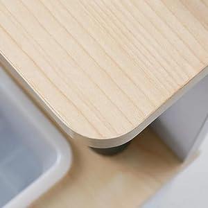 [幅55] クッキングトイ ままごとセット おもちゃ 知育玩具 木製
