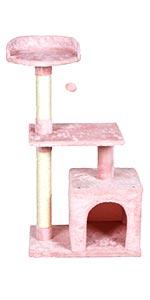 3-Level Cat Tree Stand House Furniture
