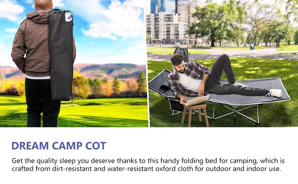 Dream camping cot
