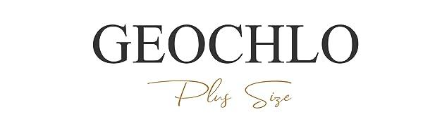 Geochlo Plus size dress for women