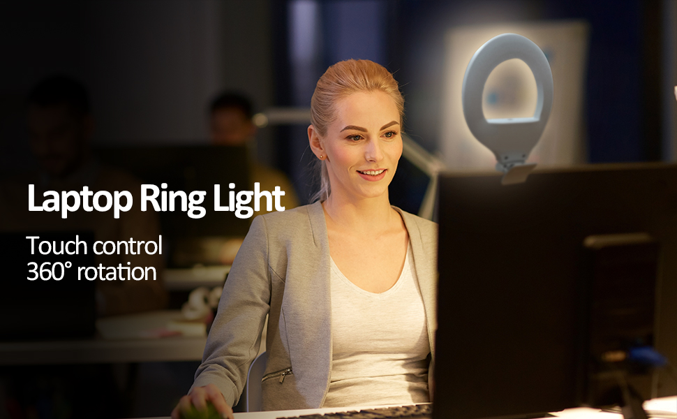 Laptop Ring Light