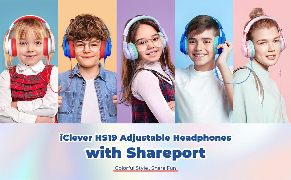 kids headphone with mic