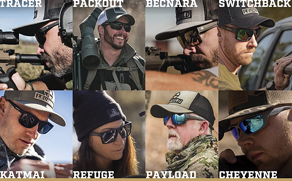 Hunting safety glasses