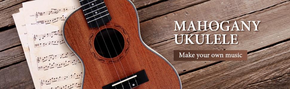 banner of mirio ukulele