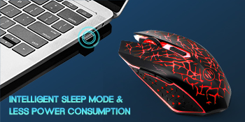 Quality red PC mice