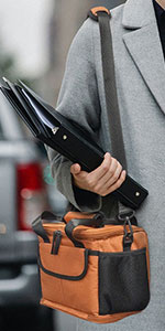 Collapsible Insulated Lunch Carrier