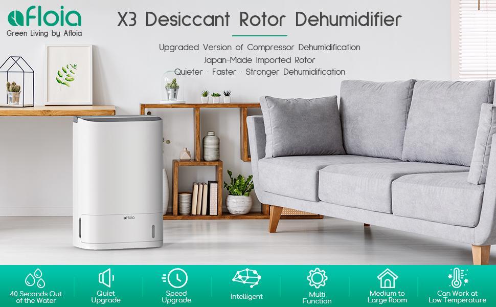 Desiccant Rotor Dehumidifier X3
