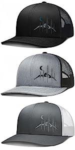 LARIX Wild Moon Trucker Hat