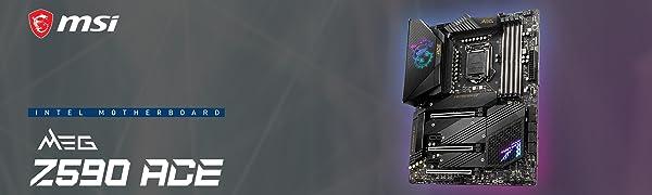Z590 Intel 11th gen 10th gen WIFI