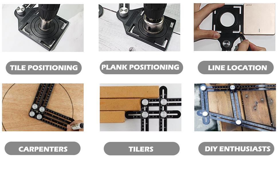 multi-functional angle ruler