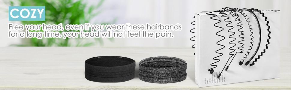 metal sport hairband
