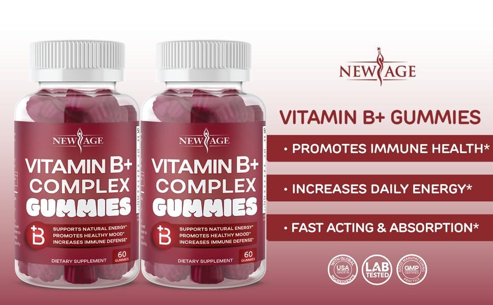 vitamin b complex gummies