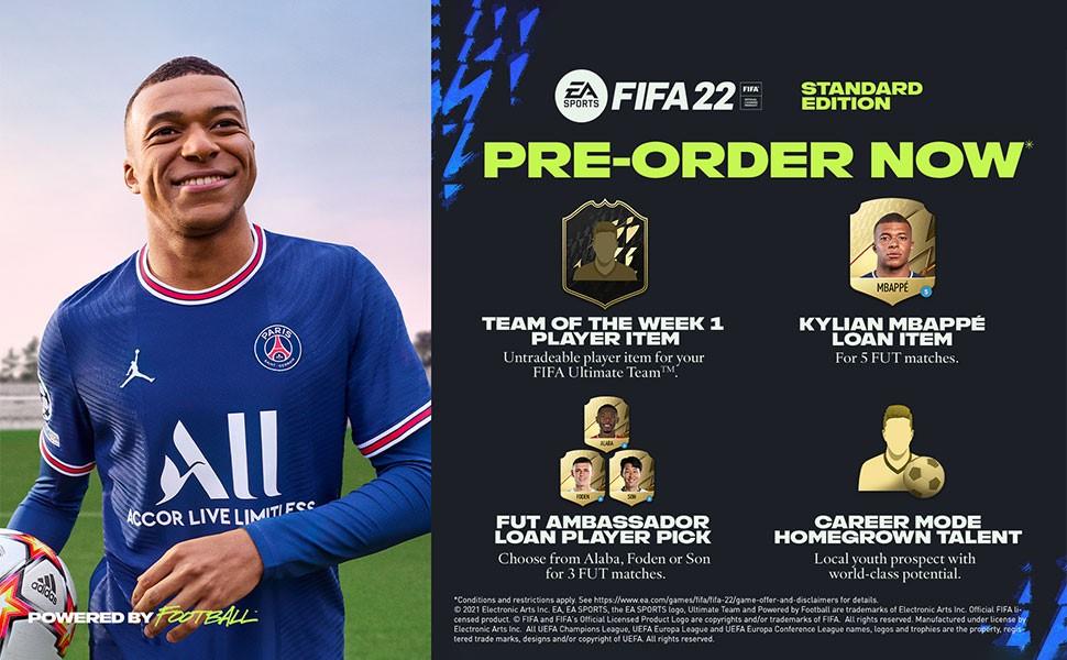 FIFA 22 Pre-Order Banner