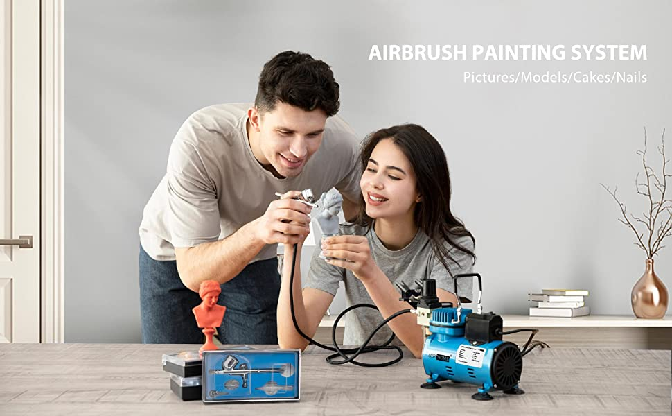 airbrushing paint system