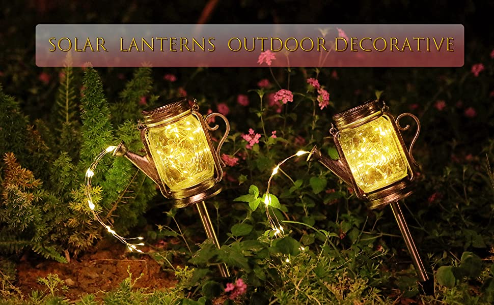 mason jar solar lights outdoor