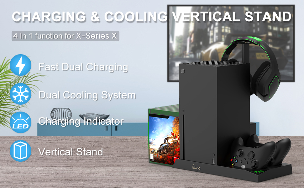 cooling stand for xbox series x