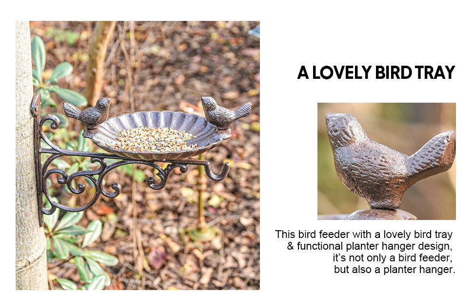 a lovely bird tray