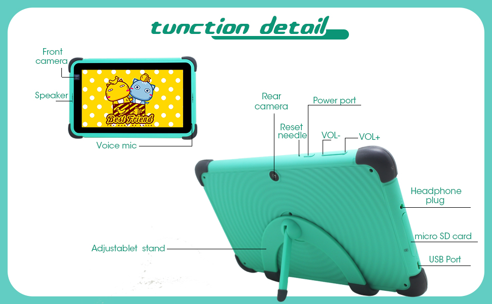 it is a kids tablet computer that can be carried with you