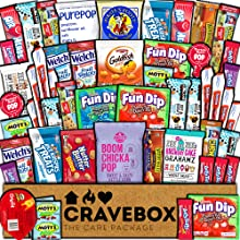 care package gift box snacks candy students college kids boys girls big cool large value basket