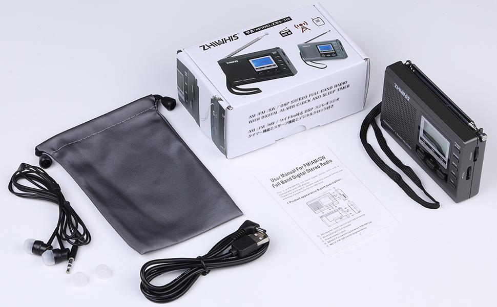 package FM  MW SW  Radio Receiver