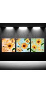 home art decor, kitchen canvas, kitchen wall decor, canvas art decor, yellow wall decor