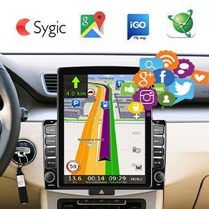 car in-dash navigation gps units