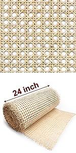 rattan material 24 in