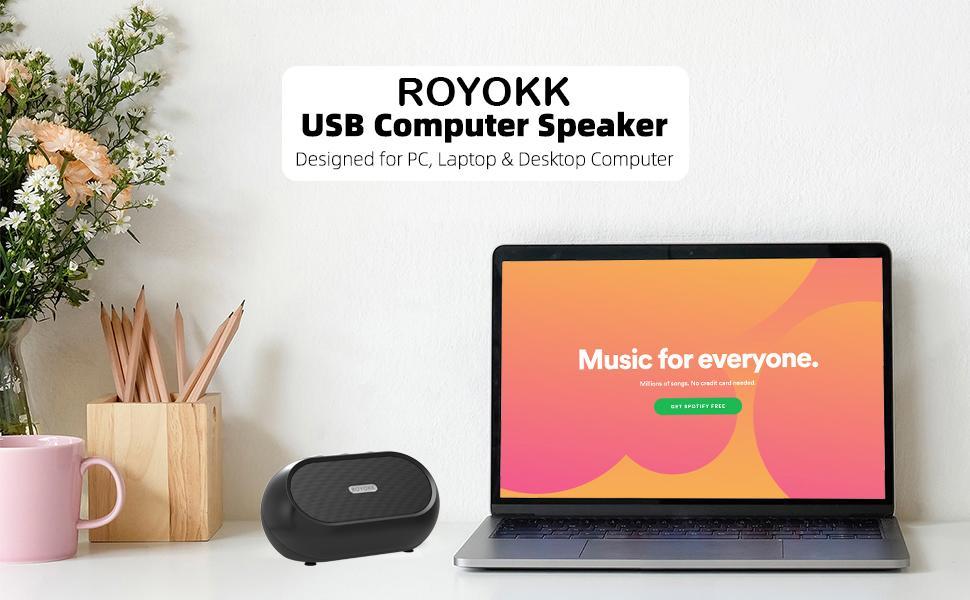 ROYOKK PC Speakers