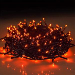 purple string lights