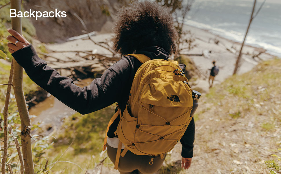 Daypacks for men and women by The North Face