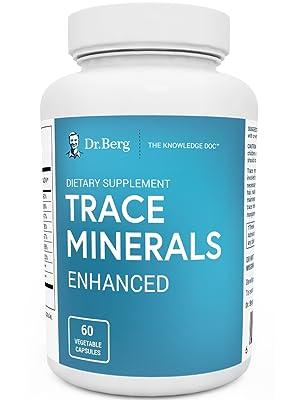 Dr. Berg's Trace Minerals Enhanced