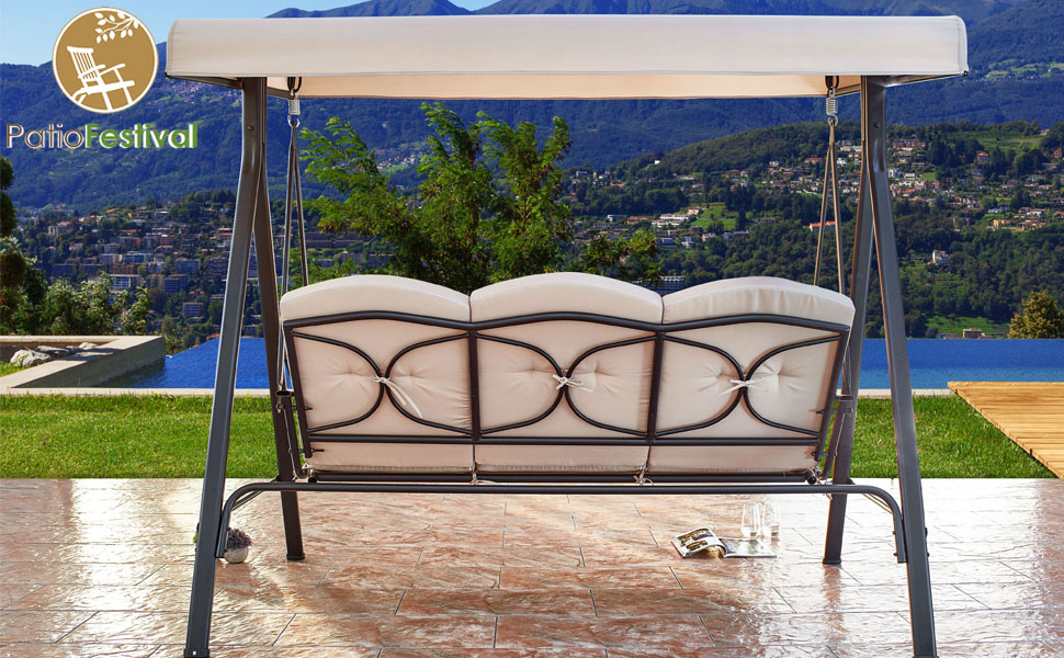 patio swing porch swing outdoor swing outdoor swings for adults patio swing with canopy porch swing