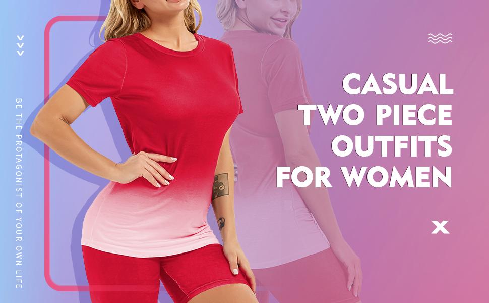 casual two piece outfits for women