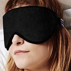 Masters of Mayfair Luxury Sleep Mask Black