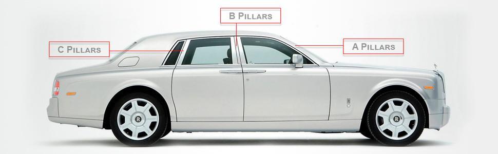 types of pillar post decals