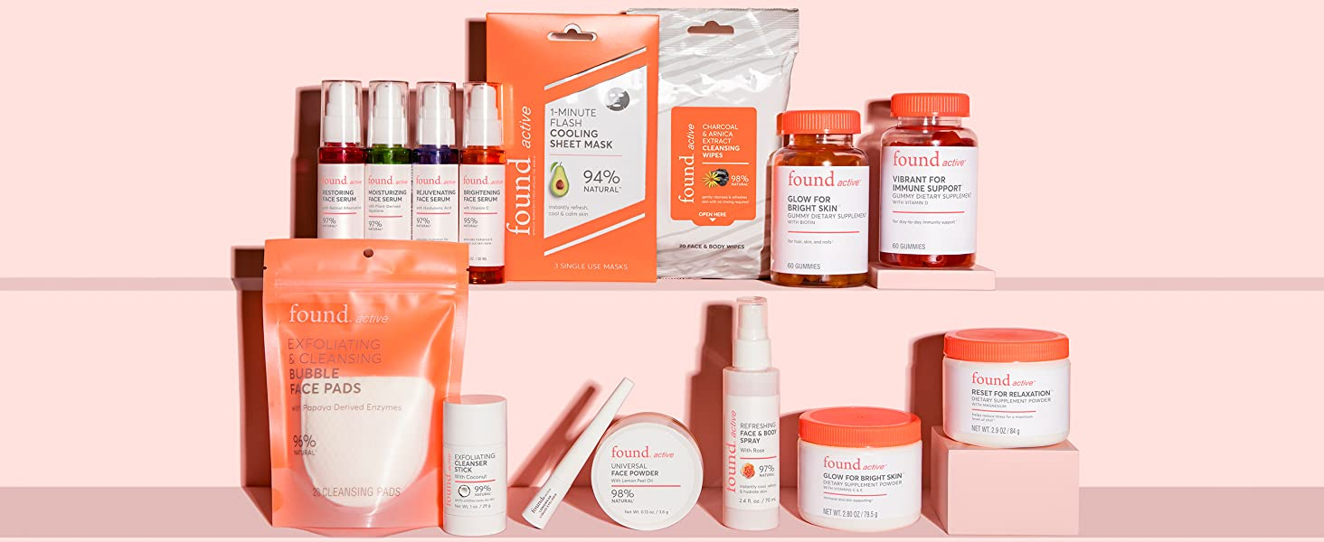 Face Washer, Cleanser, Serums, Cream, Clean, Skin, Natural, Glow, Supplements, Mask, Gummy, Vitamin