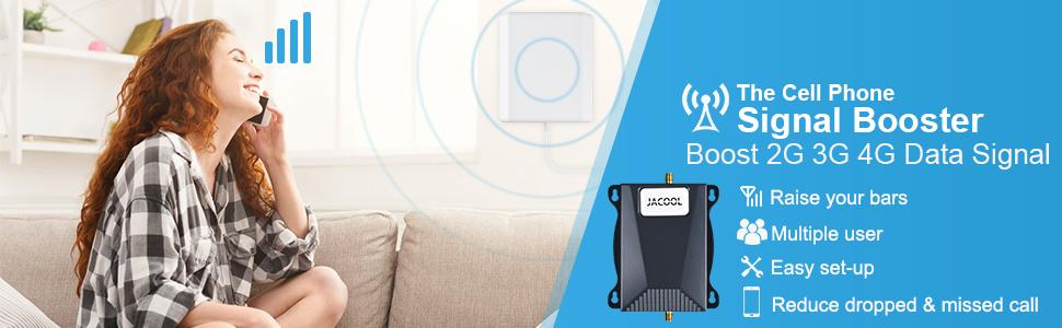 cell phone signal booster for at&t