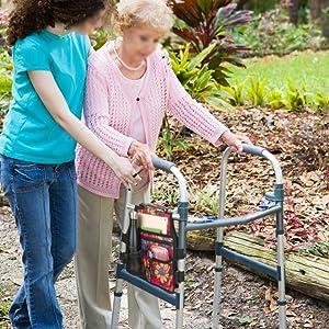 walker bag for seniors elderly