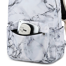 teens backpack with front pocket for ipad school supplies