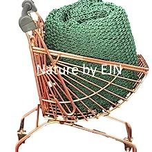 african net sponge, nylon, nature by ejn, premium, quality