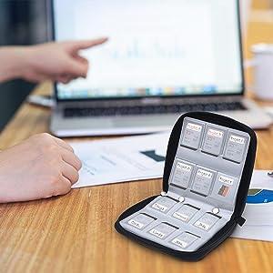 portable photography  nanostick panasonic cardholder